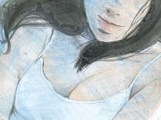 『水色の部屋』ゴトウユキコ