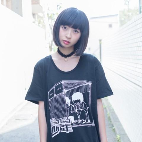 VV限定「ピコピコ少年」Tシャツ ブラック