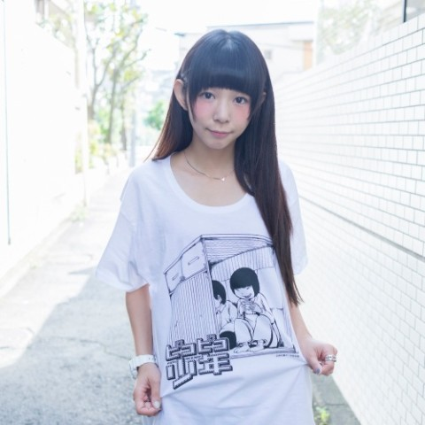 VV限定「ピコピコ少年」Tシャツ ホワイト